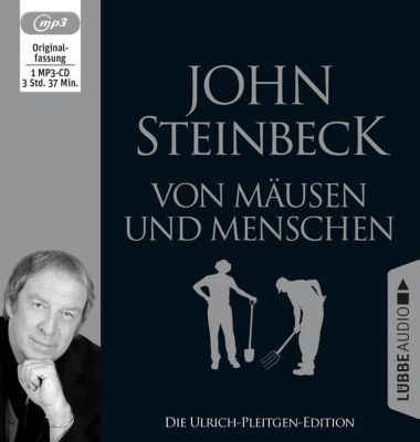 Von Mäusen und Menschen, 1 MP3-CD, John Steinbeck