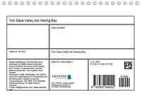 Von Sapa Valley bis Halong Bay (Tischkalender 2019 DIN A5 quer) - Produktdetailbild 13