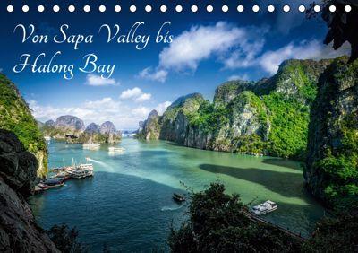 Von Sapa Valley bis Halong Bay (Tischkalender 2019 DIN A5 quer), Joerg Gundlach