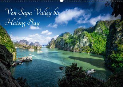 Von Sapa Valley bis Halong Bay (Wandkalender 2019 DIN A2 quer), Joerg Gundlach