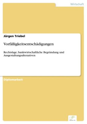 Vorfälligkeitsentschädigungen, Jürgen Triebel
