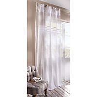 leinen vorhang spitze lavendel jetzt bei bestellen. Black Bedroom Furniture Sets. Home Design Ideas