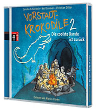 Vorstadtkrokodile Band 2: Die coolste Bande ist zurück (2 Audio-CDs) - Produktdetailbild 1