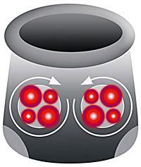 VTALmaxx Shiatsu Fußmassagegerät - Produktdetailbild 5