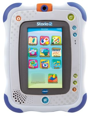 Vtech Storio 2 Lern-Tablet für Kinder (Farbe: blau)