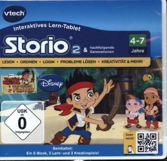 Vtech - Storio 2 Lernspiel (Ausführung: Jake und die Nimmerland Piraten)