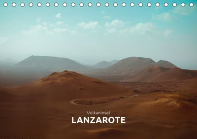 Vulkaninsel - Lanzarote (Tischkalender 2019 DIN A5 quer), Marta Rumszauer
