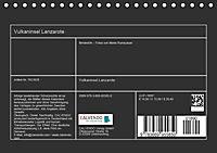 Vulkaninsel - Lanzarote (Tischkalender 2019 DIN A5 quer) - Produktdetailbild 13