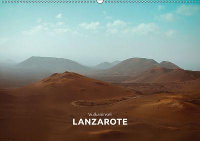 Vulkaninsel - Lanzarote (Wandkalender 2019 DIN A2 quer), Marta Rumszauer