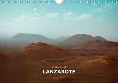 Vulkaninsel - Lanzarote (Wandkalender 2019 DIN A4 quer), Marta Rumszauer