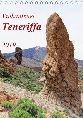Vulkaninsel Teneriffa (Tischkalender 2019 DIN A5 hoch), Anja Frost