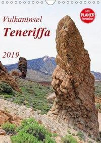Vulkaninsel Teneriffa (Wandkalender 2019 DIN A4 hoch), Anja Frost
