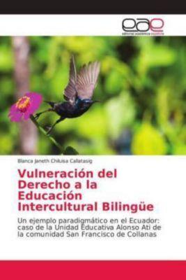 Vulneración del Derecho a la Educación Intercultural Bilingüe, Blanca Janeth Chiluisa Callatasig