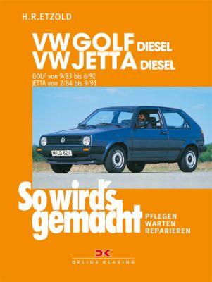 VW Golf II Diesel von 9/83 bis 6/92, Jetta Diesel von 2/84 bis 9/91, Rüdiger Etzold