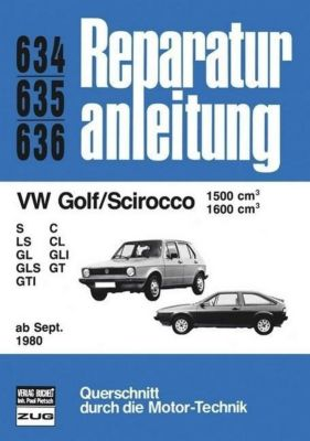 VW Golf/Scirocco 1599/1600 ab 09/80