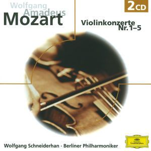 W.A. Mozart: Violinkonzerte Nr.1-5, Wolfgang Amadeus Mozart