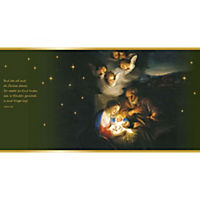 Wachslaterne »Heilige Nacht« - Produktdetailbild 2