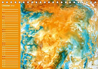 Wachsmaltechnik- Fantasien (Tischkalender 2019 DIN A5 quer) - Produktdetailbild 10