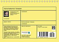 Wachsmaltechnik- Fantasien (Tischkalender 2019 DIN A5 quer) - Produktdetailbild 13