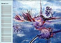 Wachsmaltechnik- Fantasien (Wandkalender 2019 DIN A2 quer) - Produktdetailbild 1