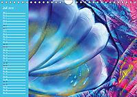 Wachsmaltechnik- Fantasien (Wandkalender 2019 DIN A4 quer) - Produktdetailbild 7