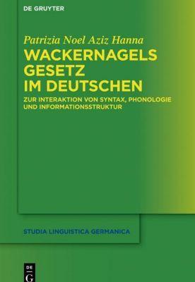 Wackernagels Gesetz im Deutschen, Patrizia Noel Aziz Hanna