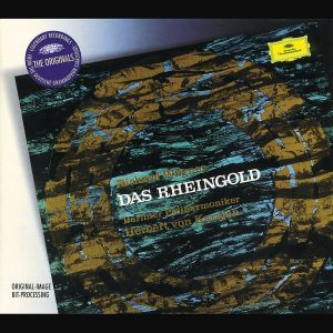 Wagner: Das Rheingold, Herbert von Karajan, Bp