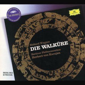 Wagner: Die Walküre, Herbert von Karajan, Bp