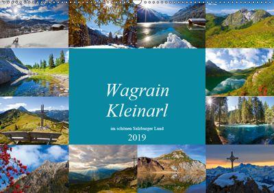 Wagrain Kleinarl im schönen Salzburger Land (Wandkalender 2019 DIN A2 quer), Christa Kramer