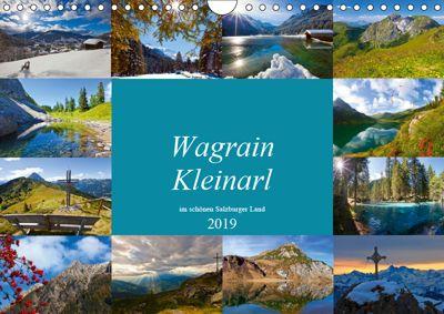 Wagrain Kleinarl im schönen Salzburger Land (Wandkalender 2019 DIN A4 quer), Christa Kramer