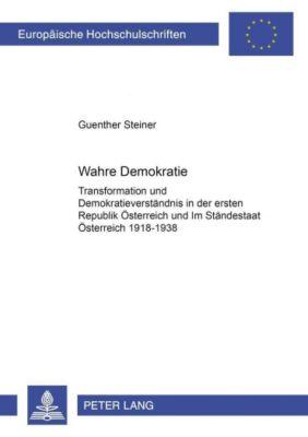 Wahre Demokratie?, Guenther Steiner