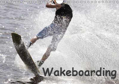 Wakeboarding / UK-Version (Wall Calendar 2019 DIN A4 Landscape), Marc Heiligenstein
