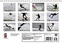 Wakeboarding / UK-Version (Wall Calendar 2019 DIN A4 Landscape) - Produktdetailbild 13