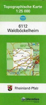 Waldböckelheim 1 : 25 000