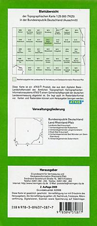Waldböckelheim 1 : 25 000 - Produktdetailbild 1