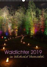 Waldlichter im Wildwald Vosswinkel 2019 (Wandkalender 2019 DIN A3 hoch), Britta Lieder