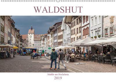 Waldshut - Städtle am Hochrhein (Wandkalender 2019 DIN A2 quer), Liselotte Brunner-Klaus