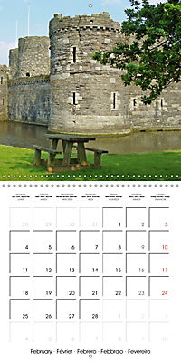 Wales - The undiscovered west of Britain (Wall Calendar 2019 300 × 300 mm Square) - Produktdetailbild 2