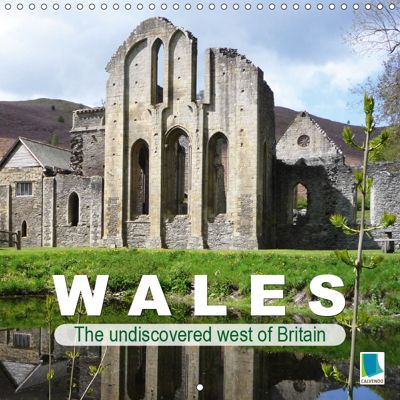 Wales - The undiscovered west of Britain (Wall Calendar 2019 300 × 300 mm Square), CALVENDO
