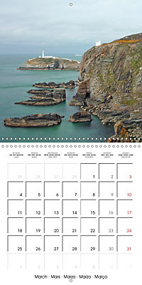 Wales - The undiscovered west of Britain (Wall Calendar 2019 300 × 300 mm Square) - Produktdetailbild 3