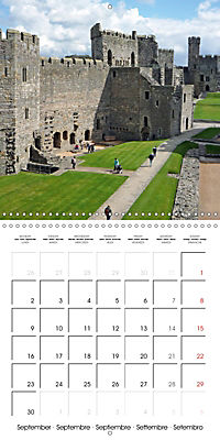 Wales - The undiscovered west of Britain (Wall Calendar 2019 300 × 300 mm Square) - Produktdetailbild 9