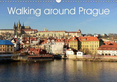Walking around Prague (Wall Calendar 2019 DIN A3 Landscape), Vassilis Korkas Photography
