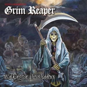 Walking In The Shadows (White/Red Vinyl), Grim Reaper