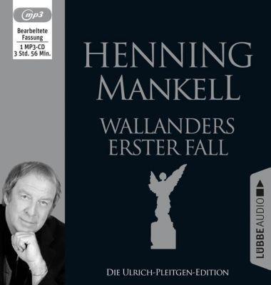 Wallanders erster Fall, 1 MP3-CD, Henning Mankell