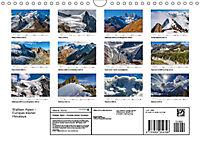 """Walliser Alpen - Europas """"kleiner"""" HimalayaCH-Version (Wandkalender 2019 DIN A4 quer) - Produktdetailbild 13"""