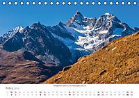 """Walliser Alpen - Europas """"kleiner"""" HimalayaCH-Version (Tischkalender 2019 DIN A5 quer) - Produktdetailbild 3"""