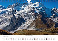 """Walliser Alpen - Europas """"kleiner"""" HimalayaCH-Version (Wandkalender 2019 DIN A4 quer) - Produktdetailbild 1"""