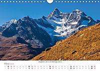 """Walliser Alpen - Europas """"kleiner"""" HimalayaCH-Version (Wandkalender 2019 DIN A4 quer) - Produktdetailbild 3"""