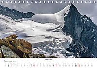 """Walliser Alpen - Europas """"kleiner"""" HimalayaCH-Version (Tischkalender 2019 DIN A5 quer) - Produktdetailbild 2"""
