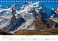 """Walliser Alpen - Europas """"kleiner"""" HimalayaCH-Version (Tischkalender 2019 DIN A5 quer) - Produktdetailbild 1"""